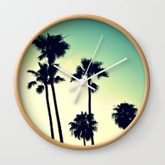 Pacific Coast Hwy Cruisin Wall Clock