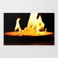 Fire and Ice Canvas Print