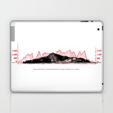 The unexamined life is not worth living. But if all you are doing is examining, you are not living. Laptop & iPad Skin