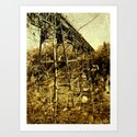 trestle {no.2 Art Print