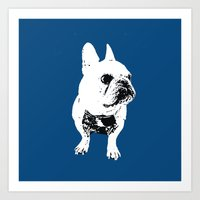 George The Cutest French… Art Print