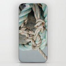 TIED TO THE MOORING #1 iPhone & iPod Skin