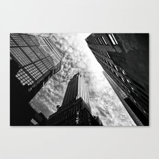 Metropolis - New York Ci… Canvas Print