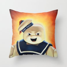 Stay Puft Marshmallow Man Throw Pillow