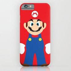 Mario - Minimalist - Nintendo iPhone 6s Slim Case