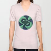Green on Blue Unisex V-Neck