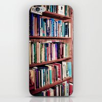 Library Shelves iPhone & iPod Skin