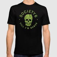 Society6 Till I'm Bones Mens Fitted Tee Black SMALL