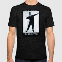 Dissenter Mens Fitted Tee Tri-Black SMALL