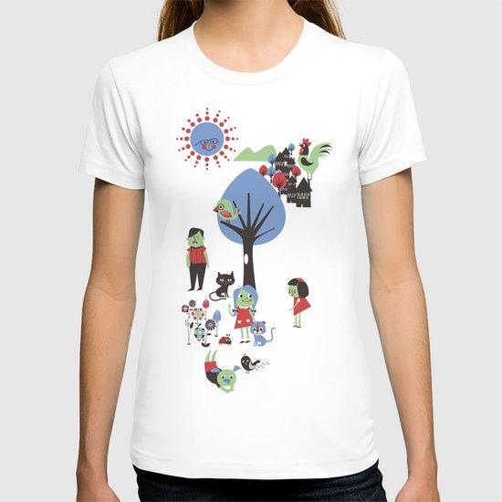 Beautiful day pattern T-shirt
