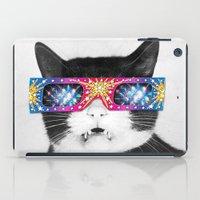 Laser Cat iPad Case