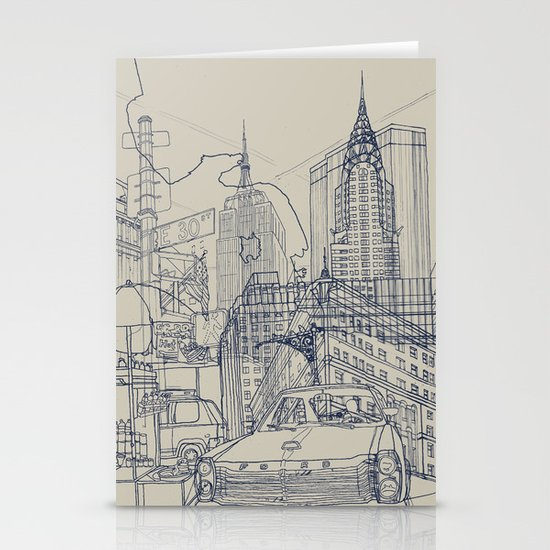 New York! Stationery Card