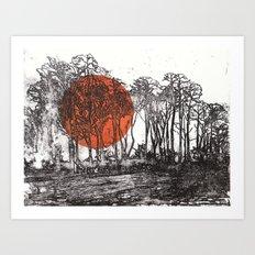 Autopilot (II) Art Print