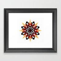 Mandala Design Hand Draw… Framed Art Print