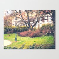 In Park Canvas Print