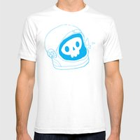 space doodle Mens Fitted Tee White SMALL