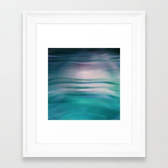 Under Sea Framed Art Print