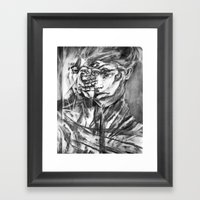 I Can't Feel  Framed Art Print
