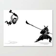 PDX vs TYO Canvas Print