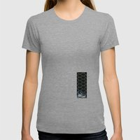 La Red Womens Fitted Tee Athletic Grey SMALL