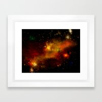 INNER SPACE - 049 Framed Art Print