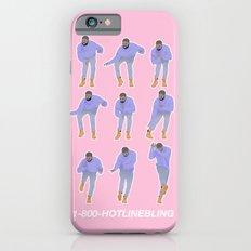 Hotline Bling (pink) iPhone 6 Slim Case
