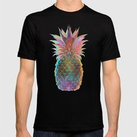 Pineapple Express Mens Fitted Tee Black SMALL