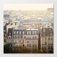 Dans Mon Reve de Paris Canvas Print