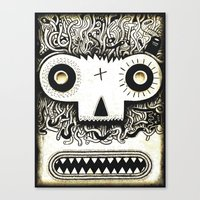 Wormface 2 Canvas Print