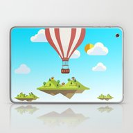 Flying Islands Laptop & iPad Skin