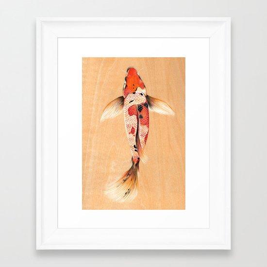 Turning Japanese III Framed Art Print