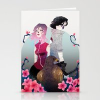 Glory And Gore Go Hand A… Stationery Cards