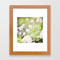 Spring miracles Framed Art Print