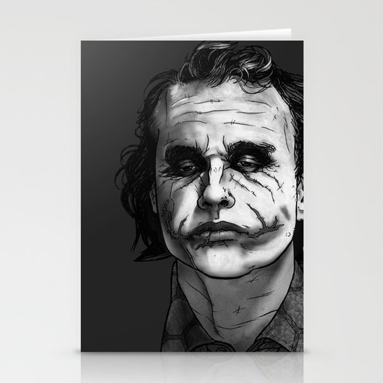 Now I'm Always Smiling // The Dark Knight Stationery Card