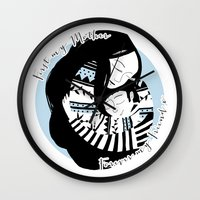Mother And Son Wall Clock
