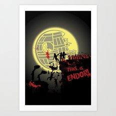 300 Ewoks Art Print