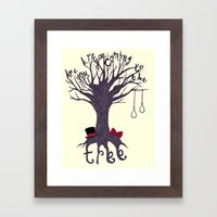 The Hanging Tree Framed Art Print