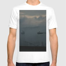 Beginning Mens Fitted Tee White SMALL