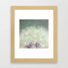 Fluff Framed Art Print