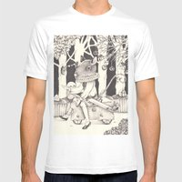 Sally Forth Mens Fitted Tee White SMALL