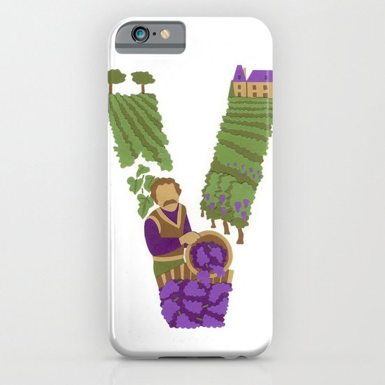 V as Vigneron (Winegrower) iPhone & iPod Case