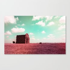 Candy My Castle Canvas Print