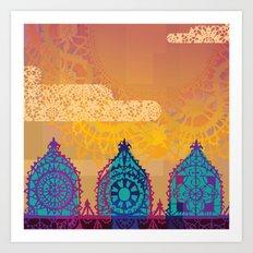 Chantily Castle II Art Print