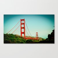 The Golden Gate Bridge A… Canvas Print