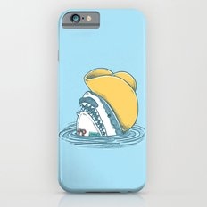 Funny Hat Shark Slim Case iPhone 6s
