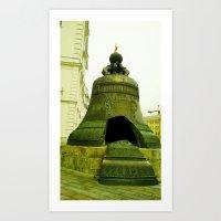 Broken Bell. Art Print