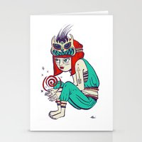 Voodoo magic Stationery Cards
