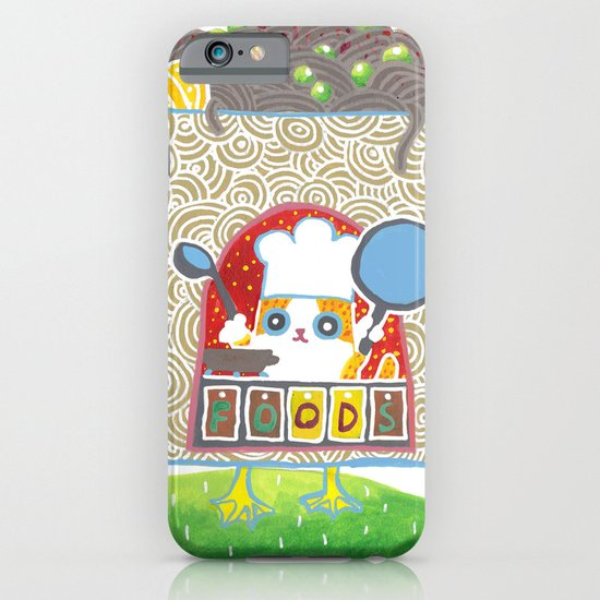 Food court_03 iPhone & iPod Case