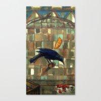 Blackbird. Canvas Print