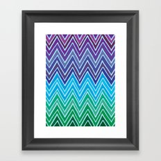 Come with me and with colors Framed Art Print